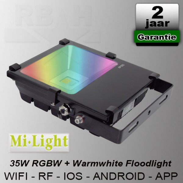 RGBW Led bouwlamp Wifi / App 35W Mi-Light